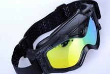 HD GAFAS SOL ESQUI CON CAMARA / Si eres un amante del deporte de esquí! llévate estas gafas de sol con cámara HD incorporado.