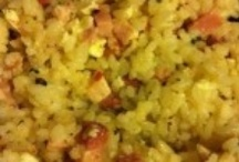 """Risotto with smoked meat. / Wonderful tasty food cooked long Siberian cold evening with seasoning """"Around the World."""""""