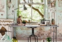 Lifestyle.-(Bohemian)-(industrial).Vintage,→ I like It..! / a colourful lifestyle.