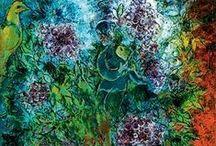Marc Chagall / by Zeynel Sezgin Kahveci