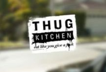 #52tries | L+T | Thug Kitchen / We're cooking the Thug Kitchen cookbook cover-to-cover as part of our 2015 #52tries challenge. This board is our photo journal, our written journal can be found at 52tries.com - Lindsey S + Tiffany / by 52tries