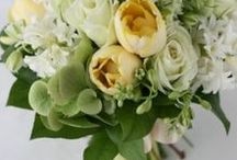 ブーケ 白に挿し色 bouquet white+another color / ys floral deco