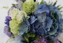 ブーケ 青 bouquet blue / ys floral deco