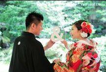 bride's photo 和装 kimono-style / ys floral deco