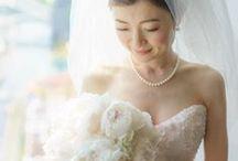 bride's photo 白ドレスバージョン / ys floral Deco