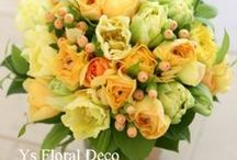 ブーケ 黄 bouquet yellow / ys floral deco