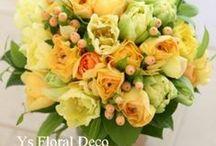 ブーケ 黄 bouquet yellow / ys floral deco