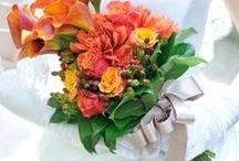 ブーケ オレンジ bouquet orange / ys floral deco