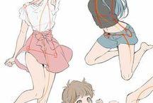 일본만화그림체