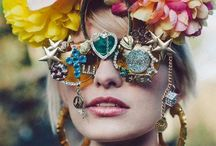 Festival fashion / Bohemian inspiration for perfect festival fashion: how to channel your inner gypsy for festivals such as Coachella, burning man, Glastonbury and Bestival