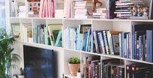 #Bücherwurm / Große, gefüllte Bücherregale mit tollen Büchern! Auf diesem Board dreht sich alles um Bücherregale ♡ Per Klick aufs Bild könnt ihr direkt losshoppen! ♡