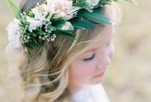 Everything Green and Cream / Inspirational ideas for Portrait Photography, Parties & Weddings