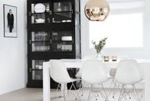 * dining spaces *