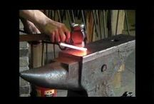 Blacksmith / Put it in and make it hot. Heat it before you beat it. Pound it when its hot!! / by BoxDoc