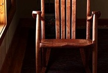 Our Rocking Chairs / Our trademarked design, The Weeks Rocker - the ultimate in rocking comfort.
