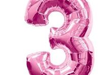 "Number Foil Balloons  / Number Foil Balloons. 7 Colours. 34-40"" - Free Delivery from The London Balloon Shop"