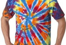 Dip dyed + tied!