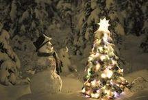 Noël / Rassembler ces photos, parmi les milliers présentes sur Pinterest, c'est un moment gourmand où l'abondance fait éclore à nouveau une joie enfantine et presque oubliée...