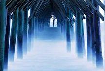 Brouillard / De la brume en soi pour certaines traversées... Accepter, permettre, rendre grâce.
