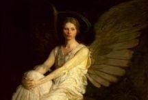 ANGEL WING - Painting That Speak Wing / Angel , Fairy , Surrealism