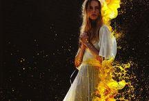 Splash Color ~ Digital Art / Amazing creation MANIPULATION - MILK.WATER. FIRE & Powder