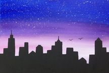 tekenen / City