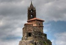 Le Puy-en-Velay / Another mystical setting for Dark Rising, Book 2 of The Archangel Prophecies.