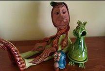 mesterek, kézművesek, alkotások / művészi kézműves alkotások