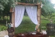 Wedding Alters/Backdrops