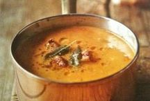 Soup de doup / Recipes for heart warming soup to chase the cold away on bone chilling days.