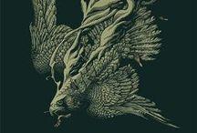 Detail / Illustration, Detail, Line, Composition, Art