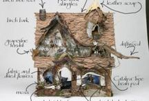 Secret door to Fairytale land / Illustration, crafts, costumes inspired in fairies and their magical worlds