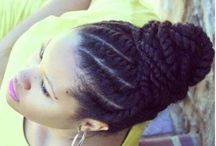 Hair and Make up / Natural hair and Beauty...braids, twist and protective styles......make up, nails / by Karla Smith