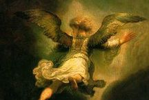 I believe in angels / Angels among us, depictions of angels in art, films ...