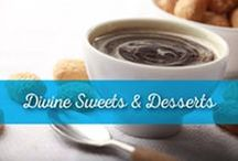 Divine Sweets & Desserts / For those of you with a sweet tooth who enjoy the little pleasures in life, Al Wadi Al Akhdar will have you wiping your plate clean of its scrumptious sweets and desserts!