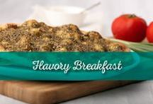 Flavory Breakfast / For all the breakfast lovers in the world! Find something that will inspire your morning and give it a little oomph.   How about a Lebanese or Eastern Mediterranean start?