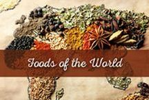 Foods of the World / Al Wadi Al Akhdar has a lot to share! Grab your passport and travel through our global recipes and ideas using Al Wadi products and recipes.