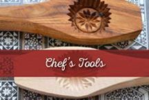 Chef's Tools / Find everything you need to complete your kitchen! Deck it out to make sure you'll never have to borrow anything again!