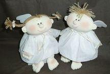 Designer Angel Dolls