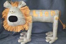 Designer Animal Toys - Lions