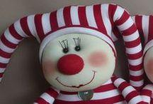 Designer Toys - Harlequin & Jester