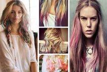 Saç tebeşiriyle rengarenk saçlar / Saç Tebeşiriyle Rengarenk Saçlar - Sevgili Moda - Kadın - Moda, Magazin, Güzellik, İlişkiler, Kariyer