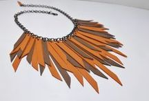 Necklaces leather