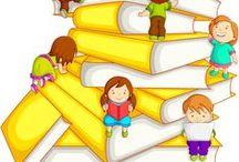 Cole, escuela, educación / ideas para clases infantiles