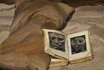 """""""Still-Leaf"""": Books Without Readers / Mostly still-life compositions featuring books; some surreal images of books."""