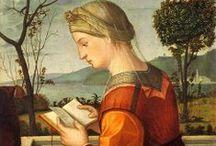 16th Century Portraits - Female Readers