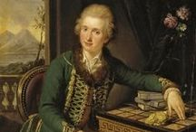 18th Century Portraits - Male Readers