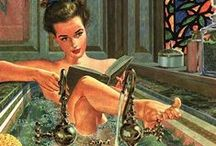 Naughty Readers: Pin-ups and Erotica / Pin-up girls (and a few guys) and some vintage erotica (pretty tame by today's standards!)