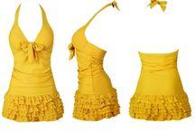 Trajes de Baño ;) / diseños de trajes de baño que me gustan.  Inspiración reto, diseños modestos pero muy femeninos.