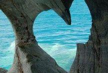 Das Meer - Sehnsucht und unendliche Weite / Alles was mein Herz zum Hüpfen bringt. Meer, Sand, Strand, Wellen, Sonnuntergang, prickelndes Nass in jeder Form.